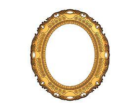 framerelief 3d printable mirror frame model