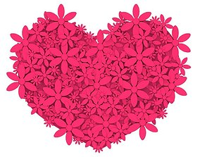 3D printable model Heart color