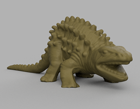 Dinosaure pic dos 3D print model