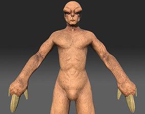 Jovian Alien Monster 3D model