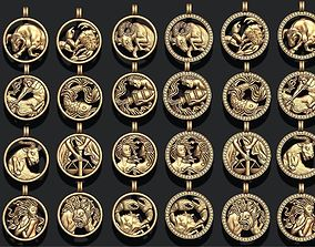 jewellery horoscope signes 3D printable model