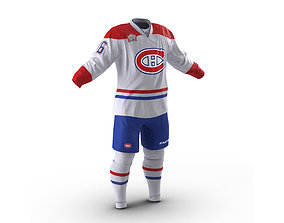 3D Hockey Clothes Montreal Canadiens