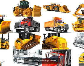 Construction Vehicles 3D