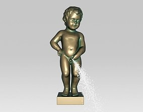 3D print model Pee Julien