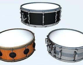 3D Snare Drum 3 Models