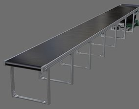 Conveyor Belt 1A 3D model