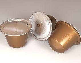 Coffee Capsule 3D Model