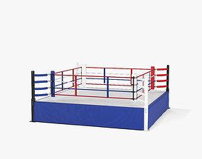 kick Boxing Ring 3D model