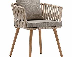 Hemilce chair 3D asset