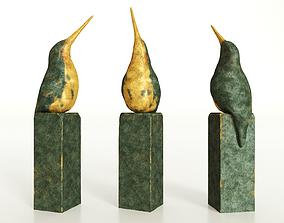 3D model figure Bird Sculpture