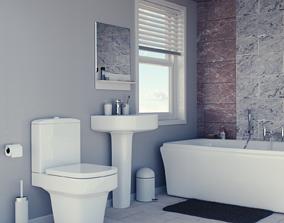 tube Bathroom 3D