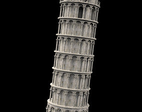 Pisa tower architectural 3D
