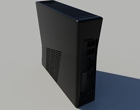 Xbox360 Slim 3D model