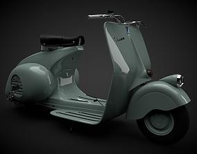 The Vespa 98 1946 3D