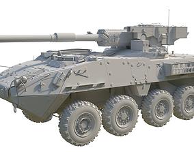 Stryker 1128 MGS 3D model