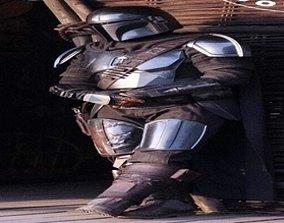 The Mandalorian Jet Pack Armor Parts and 3D print model 1