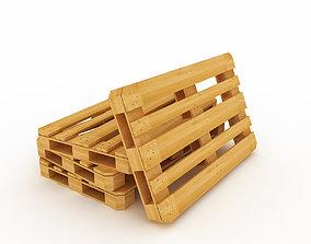 3D Wood Pallet v2