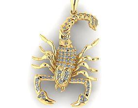 Zodiac signs Scorpion 3D print model