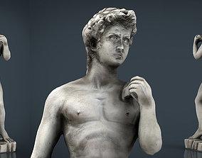 David Statue by Michelangelo 3D asset