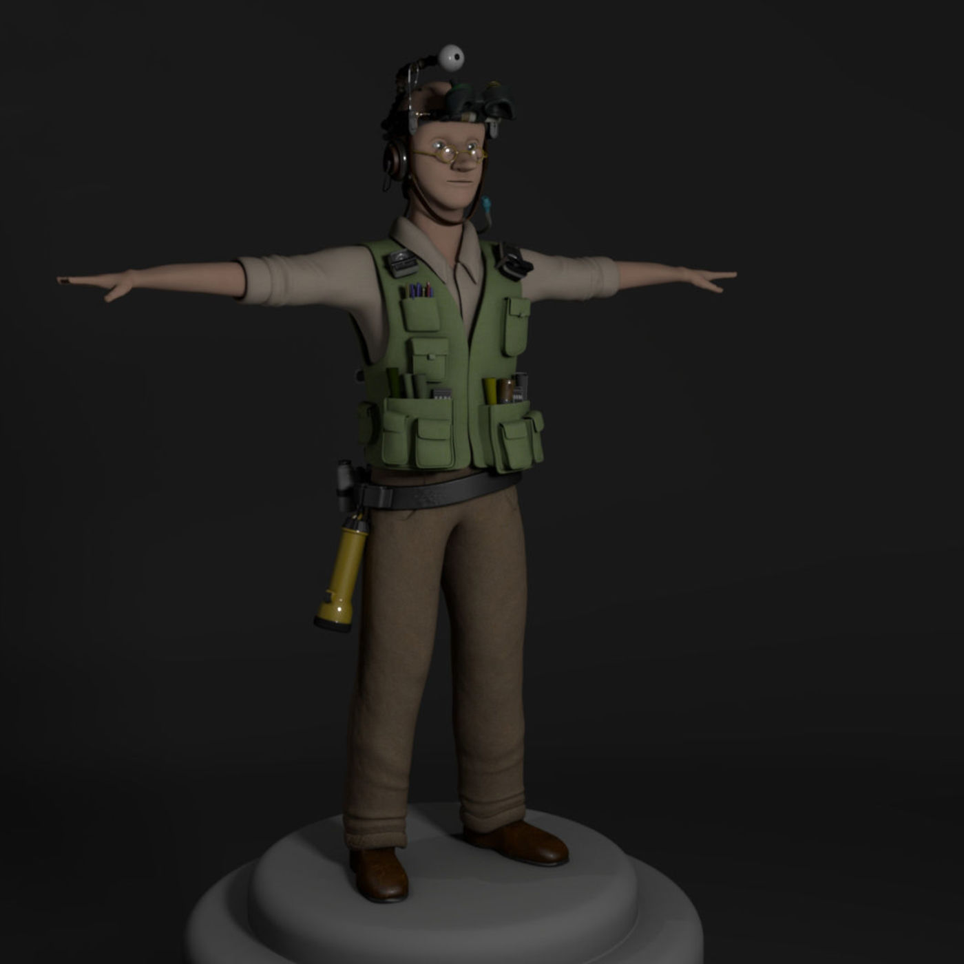 Character Model (Bomba from Epic Movie)