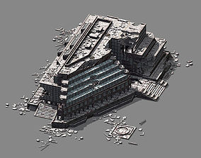 3D Different dimension - architecture - ruins 02