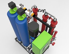 pharmaceutical osmosis 3D model