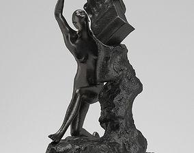 3D model Auguste Rodin Orpheus