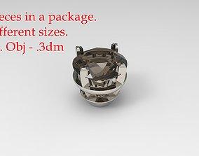 3D printable model Jewelry Prong Head Set 1