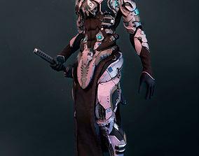 Mech robot highpoly model