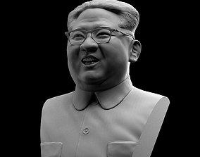 Kim Jong-Un Bust 3D printable model