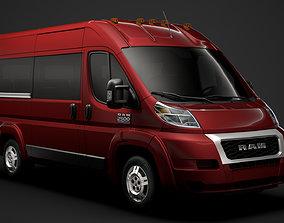 Ram Promaster Window Van 2500 HR 136WB 2020 3D model