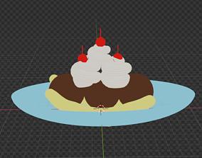 3D Ice Cream Sundae