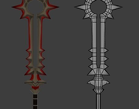 3D asset Diablo III Blade