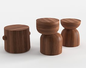 3D model Design Within Reach Hew Side Tables