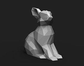 Rabbit Low Poly 3D print model