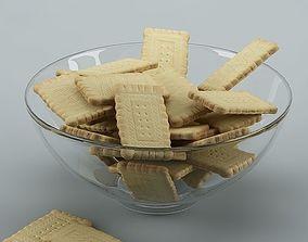 3D model Biscuits 01