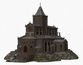 Cathedral 3D asset