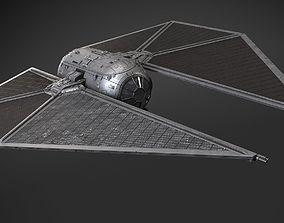 Star Wars Tie Striker 3D model