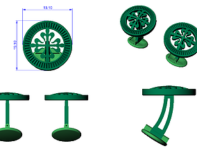 CUFFLINK-5 3D printable model