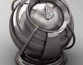 3D model VRAY SHADER---METAL---Boron