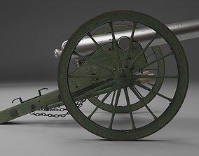 3D 1890s Cannon