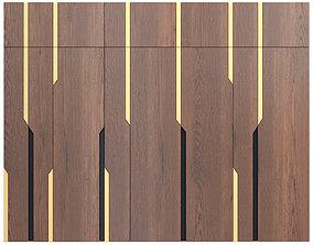 Decor wood Panel 36 3D model
