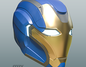 Pepper Pots Mark 49 helmet model for 3D-printing DIY