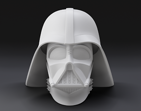 Darth Vader Helmet 3D Printer Ready