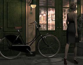 3D sportbike bicycle