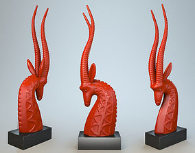 Sculpture Antelope P 3D print model