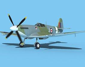 Supermarine Spitfire MK XII V02 3D model