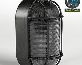 3D model Bulkhead lamp