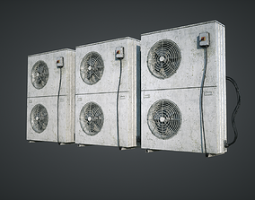 External Vents 3D asset