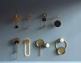 Wall lamp 3D conceptual